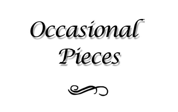 Occasional Pieces by May Allan